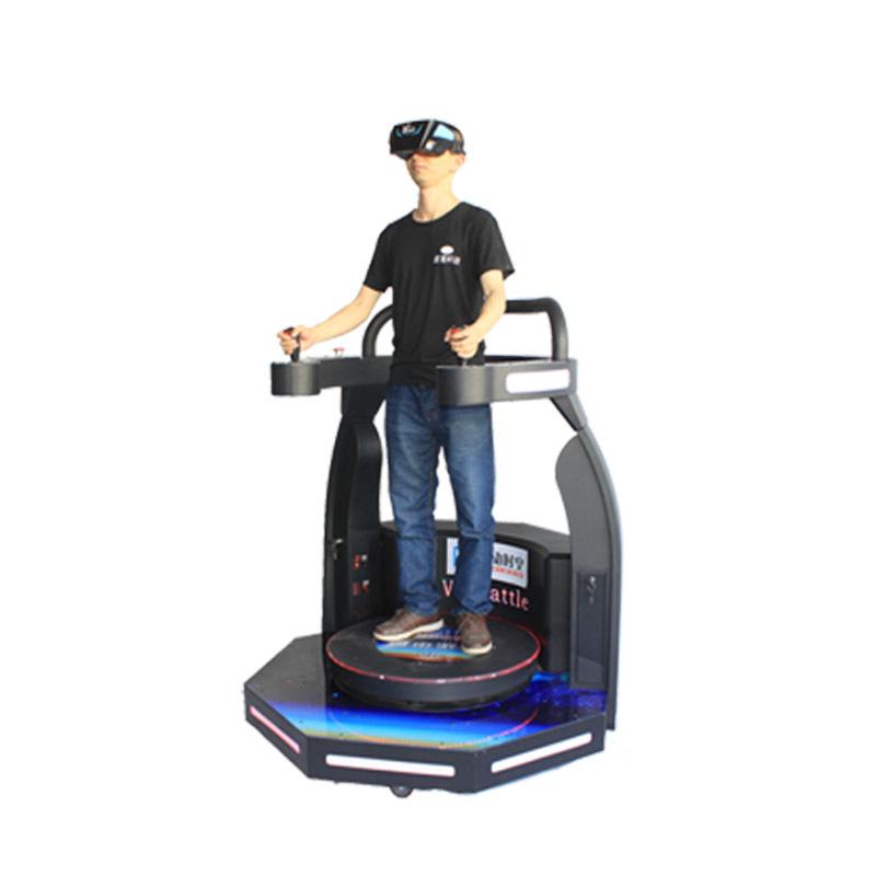 Amusement 9d Virtual Reality Standing Battle Simulator