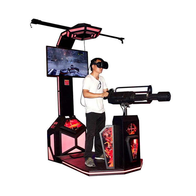 Popular VR Gun Shooting Game Machine VR Gatlin