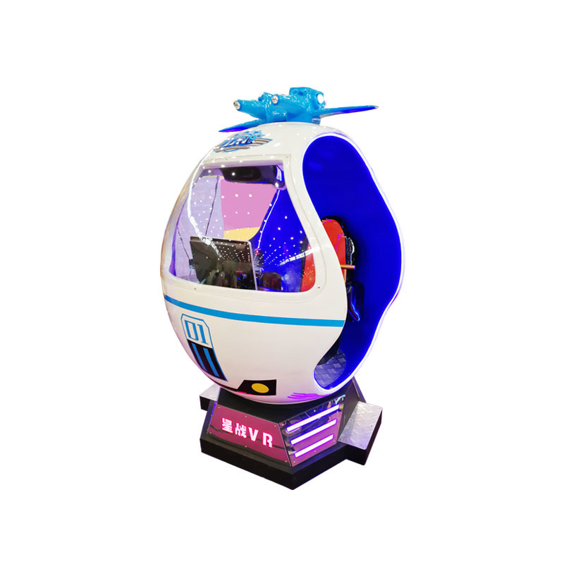 Rotational Virtual Reality Space War Shooting Game Machine Star War Xsz-08
