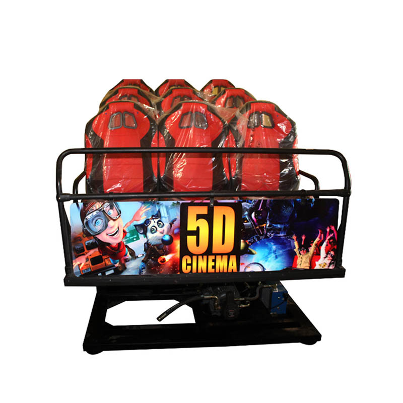 6 leather seats hydraulic controlled 5D movie theater  XFD