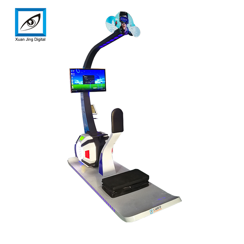sports vr skiing simulator for sale