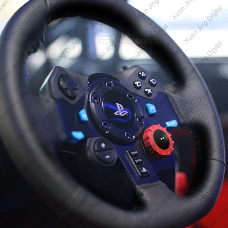 6 axis motion platform 3 screens car simulator