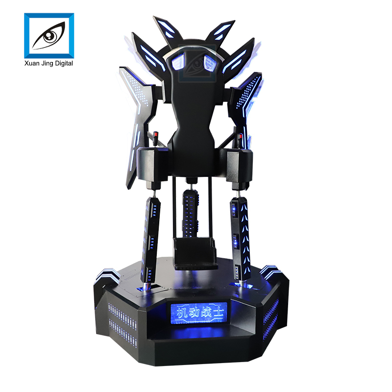 vr flight simulator standing flying with  250*1440 resolution VR headset