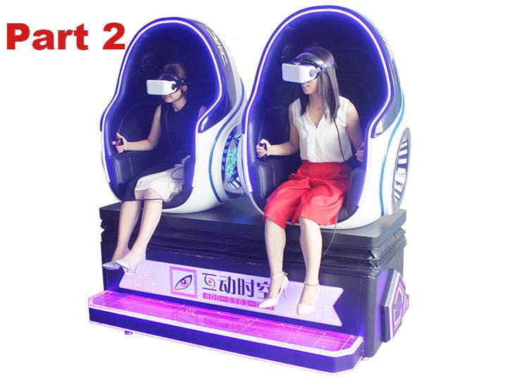 Double Seats VR Cinema Simulator