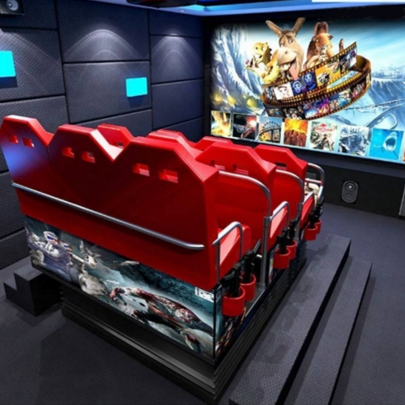 motion simulation and infrared gun interactive shooting 7D cinema XSD